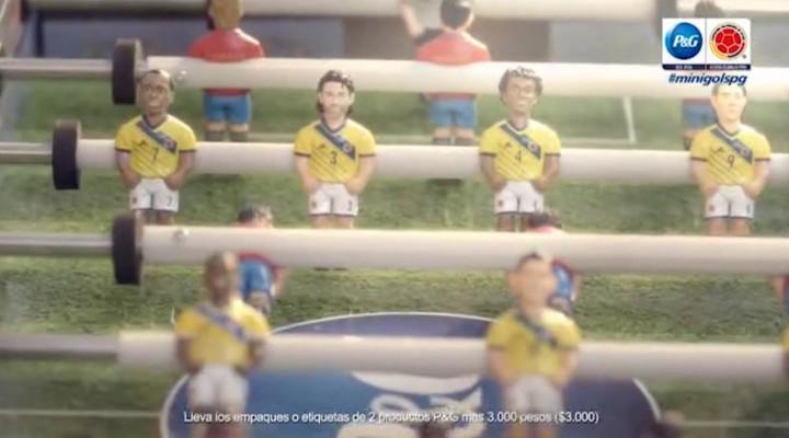 P&G Minigols Selección Colombia