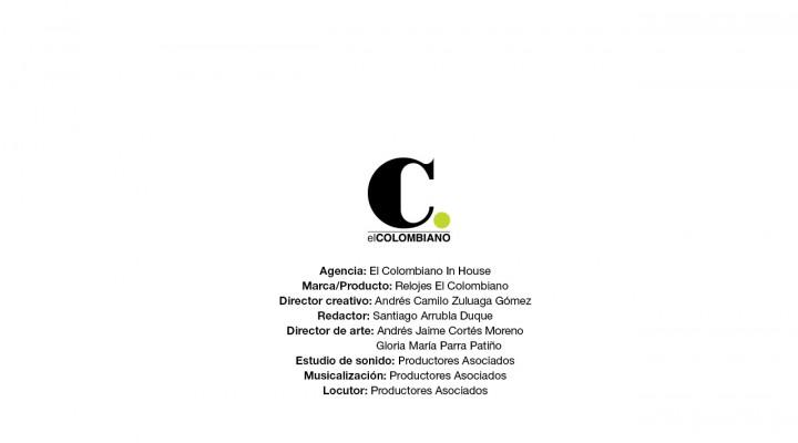 Relojes Oficiales Nacional y Medellín – El Colombiano