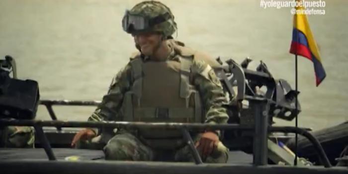 """""""Yo le guardo el puesto"""" – Ministerio de Defensa"""