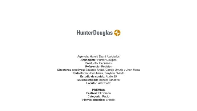 Persianas (Revistas) – Hunter Douglas