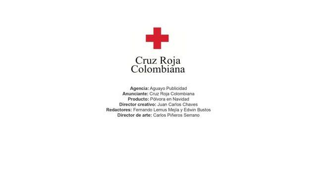 Pólvora en Navidad – Cruz Roja Colombiana