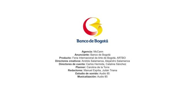 Feria Internacional de Arte de Bogotá, ARTBO – Banco de Bogotá