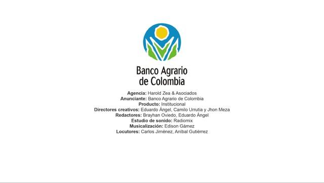 Institucional (2) – Banco Agrario de Colombia