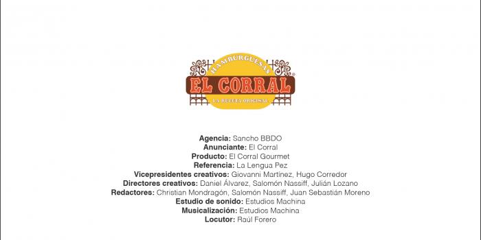 El Corral Gourmet – Sancho BBDO