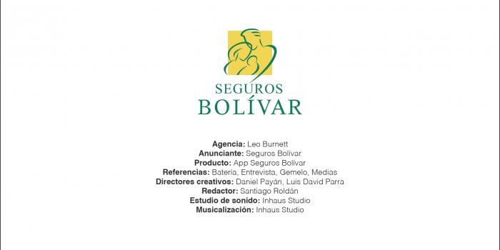 App Seguros Bolívar – Leo Burnett