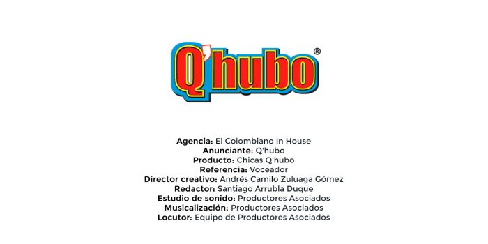 Chicas Q'hubo – El Colombiano In House