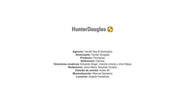 Persianas (camisa) – Hunter Douglas