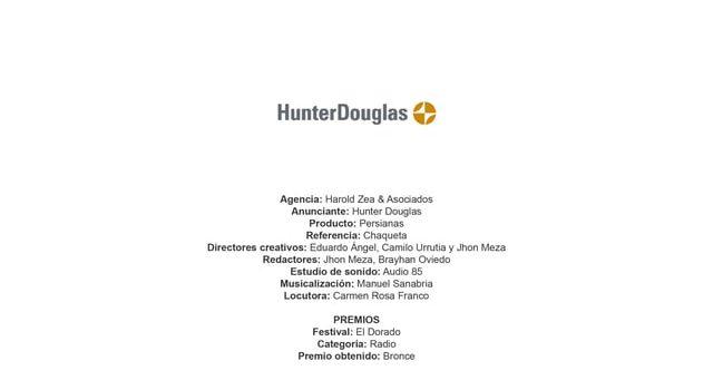 Persianas (Chaqueta) – Hunter Douglas