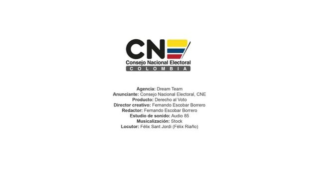 Derecho al Voto – Consejo Nacional Electoral, CNE