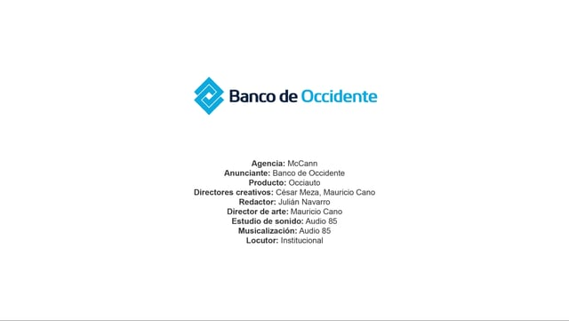 Occiauto – Banco de Occidente
