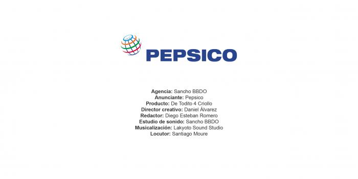 De Todito 4 Criollo – Pepsico
