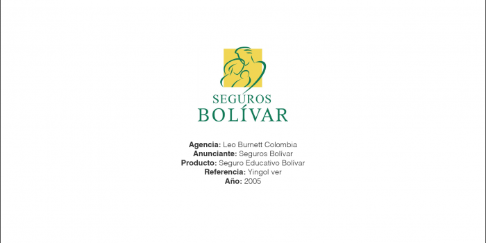 Seguro Educativo Bolivar – Leo Burnett Colombia