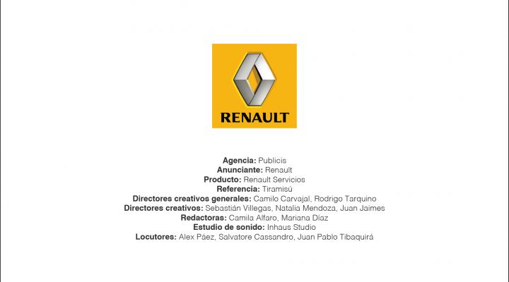 Renault Servicios – Publicis