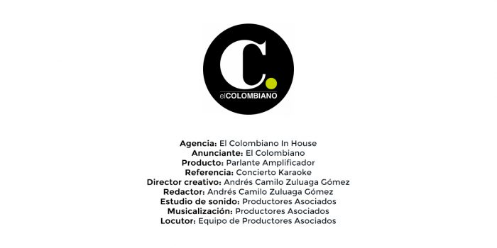 Parlante Amplificador – El Colombiano In House