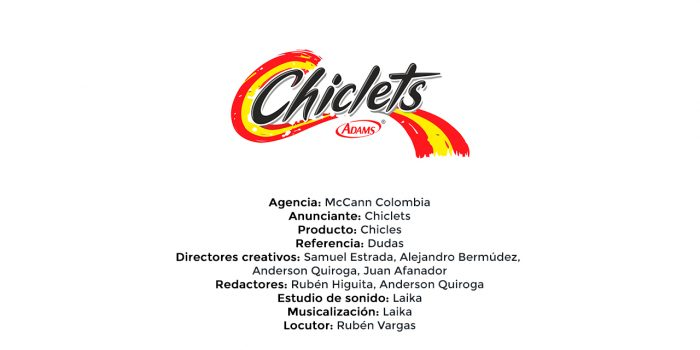 Chicles – McCann Colombia