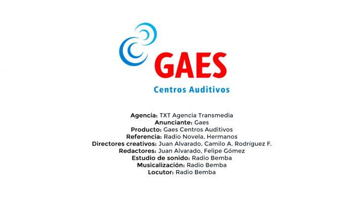 Gaes Centros Auditivos – TXT Agencia Transmedia