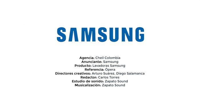Lavadoras Samsung – Cheil Colombia