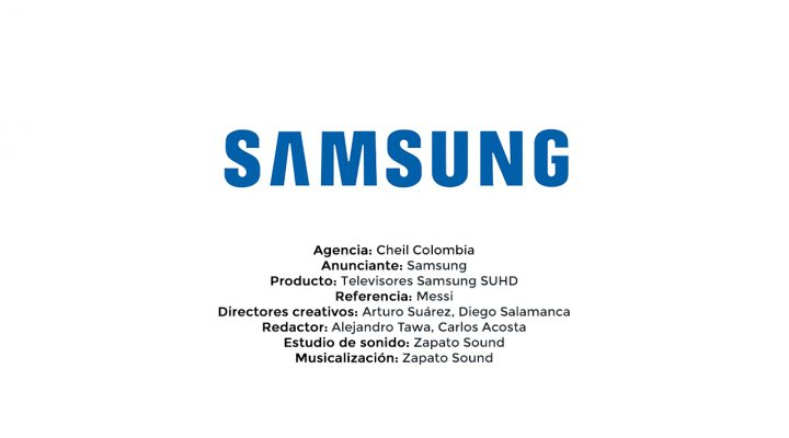 Televisores Samsung SUHD – Cheil Colombia