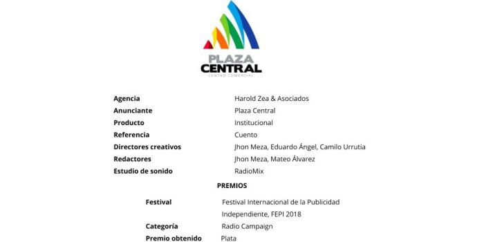 Cuento – Plaza Central