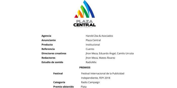 Cuento – Plaza Central