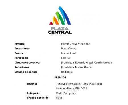Noticia – Plaza Central