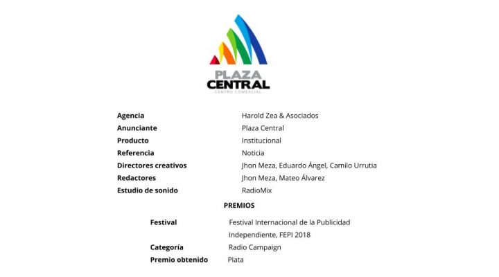 Noticia – Plaza Central