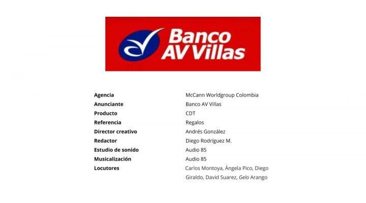 Regalos – Banco AV Villas