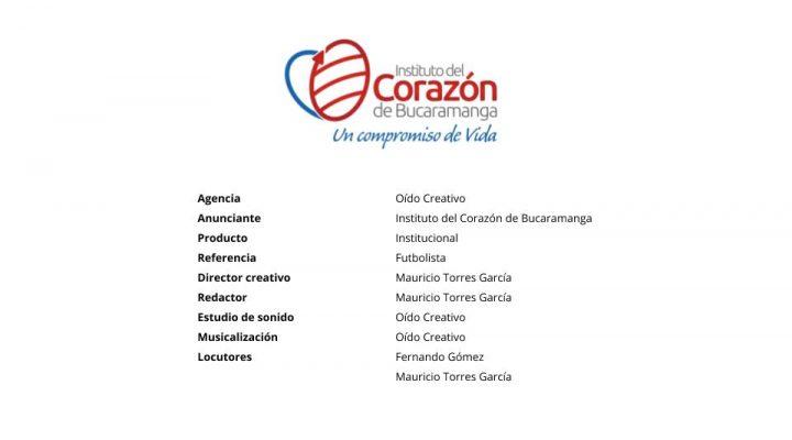 Futbolista – Instituto del Corazón de Bucaramanga