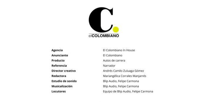 Narrador – El Colombiano